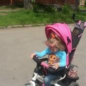 велосипед Азимут на надувных колесах