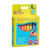 Цветные трехгранные восковые карандаши Crayola (мелки) для малышей 16 шт