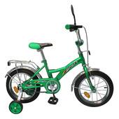 Детский велосипед profi 1232, зеленый