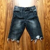 Модные джинсовые шорты M&Co на 4-5 л.