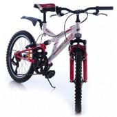 Двухколесный велосипед Азимут Динамик azimut dinamic G 20 дюймов красный