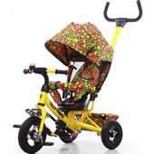 Велосипед трехколесный Tilly Trike Yellow арт. 351-4