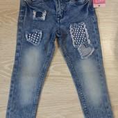 Стильные джинсы для девочек новые(Кікі&Koko)