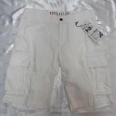 Беленькие мужские шорты, бермуды р .34 наш 50 Германия