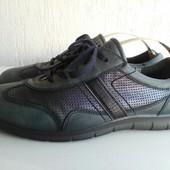 Кожаные туфли-мокасины Ecco 41,5 р. Португалия.
