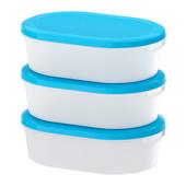 Хит продаж набор контейнеров 3шт Йэмка от Икеа Отличное качество ikea в наличии!