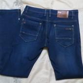 Утепленные джинсы на флисе