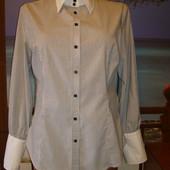 Рубашка хлопковая\хлопок\в полоску р.10-12 sonya concept