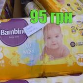 Подгузники Bambino 48шт в упаковке.Польша,