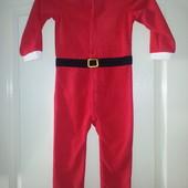Новогодний костюм Санта Клаус р 92 см