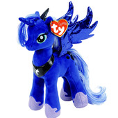 Мягкая игрушка Май литл пони принцесса Луна высотой 23 см. Оригинал Ty Inc