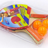 Набор для настольного тенниса Macical MT-705: 2 ракетки + 3 мяча