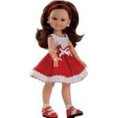 Кукла Клео в красном 32 см Paola Reina 04640