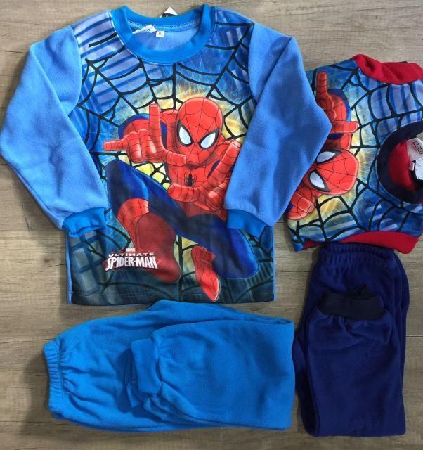 Пижама теплая , spiderman!для мальчиков, человек-паук!отличный подарок! фото №1