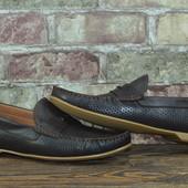 Мужские кожаные мокасины Prime Shoes brown