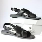 Шикарні шкіряні сандалі Mark Hero, Італія-Оригінал