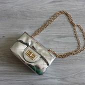 Лакированная сумочка для маленьких модниц копия Chanel  т