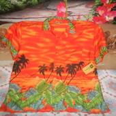 Ingear яркая рубашка летняя большой размер
