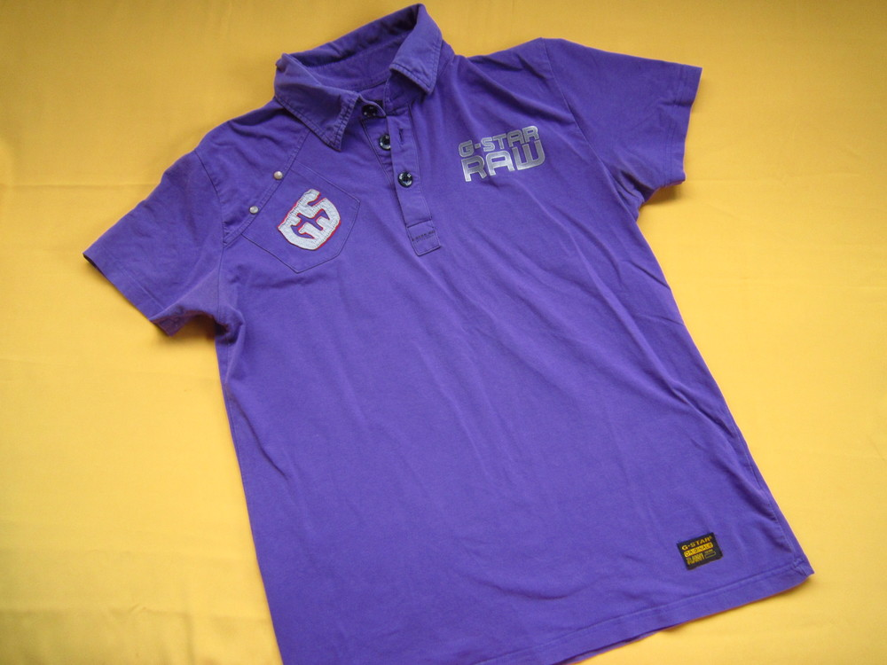 Мужская футболка поло G-Star,р.L фото №1