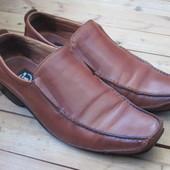 Туфли мужские i2, кожаные, размер 42 или Uk 8, стелька 29,5 см