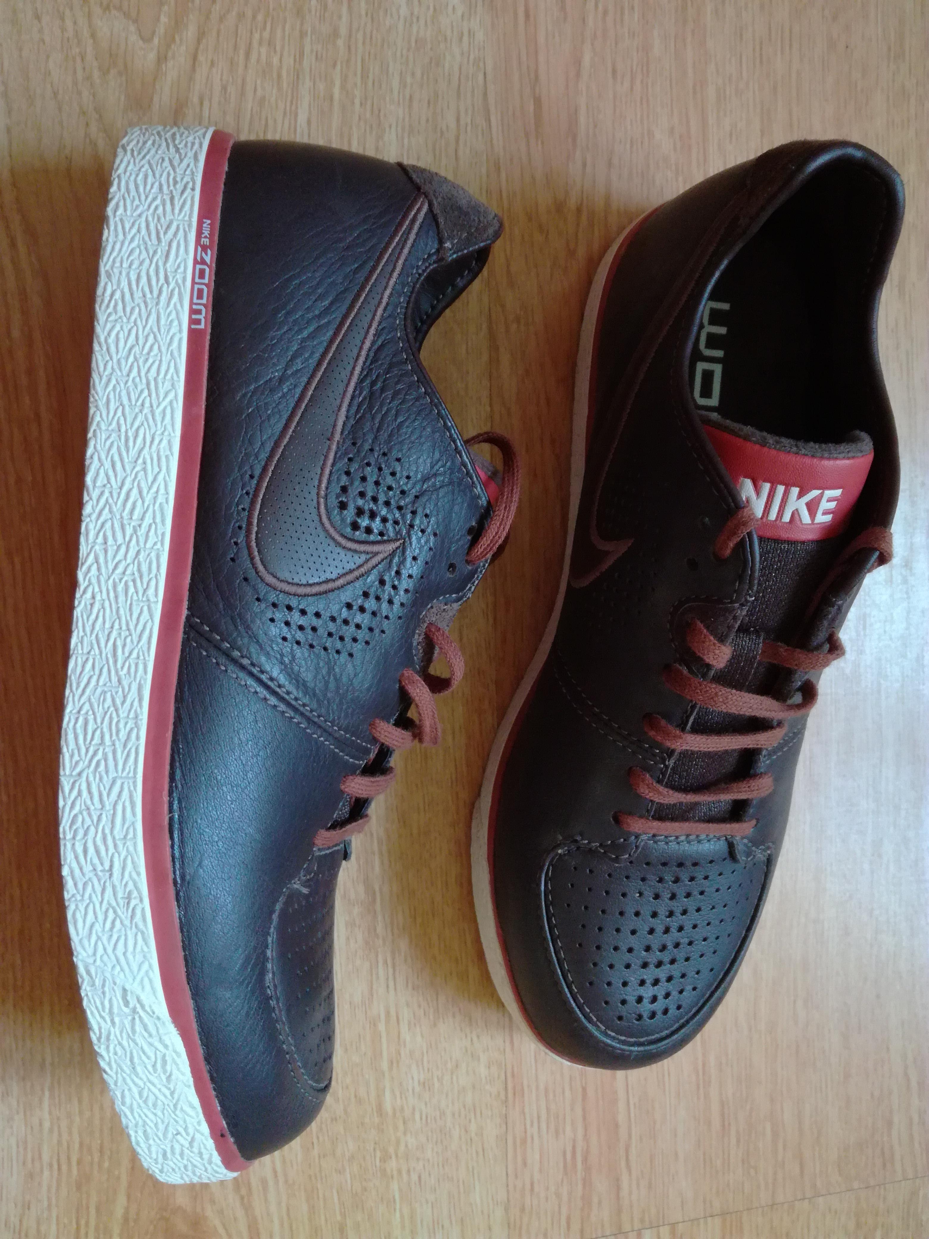 Новые кроссовки Nike Zoom р.40 кожа