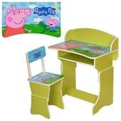 """Парта детская регулируемая """"Peppa Pig"""" 301-13, 301-6"""