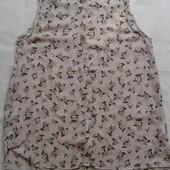 Блуза в цветочек New Look ( L )