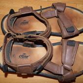 (i0096)кожаные фирменные босоножки 38 р Crane