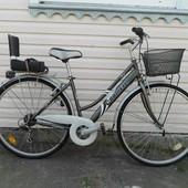 Велосипед Carnielli Италия + детское кресло