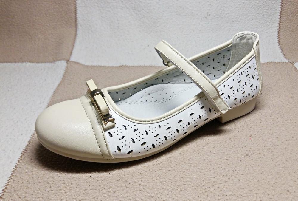 Стильные туфли от том. м, р. 34,35 фото №1