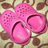 детская обувь 15.5 р кроксы