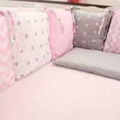 Бортики, защита в кроватку, постельное в кроватку записи с 26.06