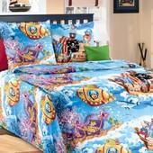 """Комплект постельного белья """"Пираты"""" . Бязь гост"""