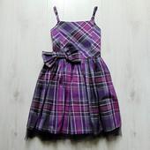 Шикарное нарядное платье для девочки. George. Размер 10-11 лет. Состояние: новой вещи