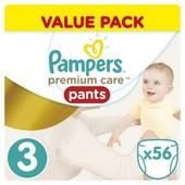 Подгузники-Трусики Pampers Premium Care 3-56шт Польша