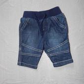 в идеале! 0-1 мес., р. 50-56 джинсы зауженные Tu фирменные джинсики
