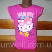 Футболка для девочки Китти, Hello kitty Sun City Франция 3-8лет