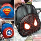 """Рюкзак """"Spiderman"""",""""Superman"""",""""капитан Америка"""".Садик."""