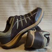 Комфортные комбинированные фирменные кроссовки  Lands`End  США. 40 р.