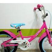 Детский велосипед 18 Pride MIA 2017, двухколесный, прайд, девочки