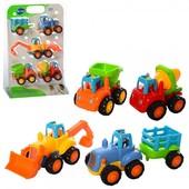 Набор машинок Hueli Toys Грузовички дуже гарна якість!