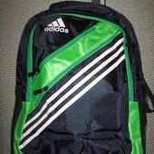 Универсальный прочный рюкзак для школы и прогулок  Адидас