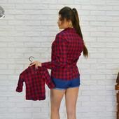 Рубашка для мамы и дочки
