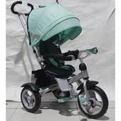 Детский трёхколёсный велосипед Crosser Т-503 фара, накачка Кросер Т 503