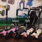 Самокат детский Maraton Maxi принт