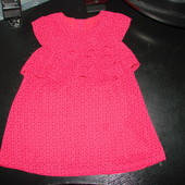 шикарная блуза Matalan 3-4 года состояние отличное