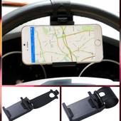 Держатель для телефона автомобильный на руль