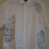 новая мужская хлопковая рубашка.XXXL