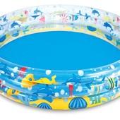 """Детский надувной бассейн """"Подводный Мир"""", Bestway 51005 (183х33 см), 480 л"""