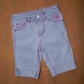 4-6 лет, р. 104-116,  из эко ткани! шорты со стразами Arizona шортики красивые
